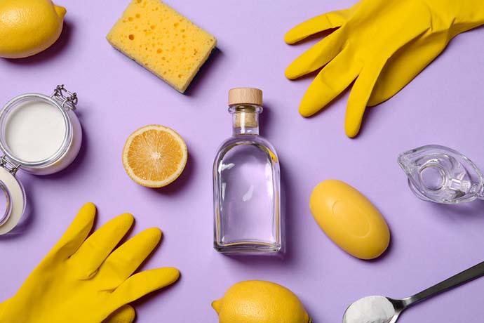 prodotti pulizia casa fai da te